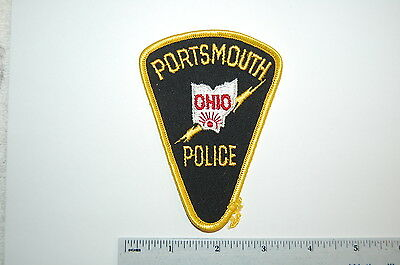 Portsmouth Ohio Police Dept Patch