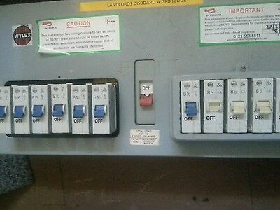 Wylex Ccu Metal With  Fuses (Used  )