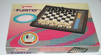 SYSTEMA Jupiter 72 Level electronic Chess Computer. Boxed. No Instructions