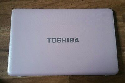 TOSHIBA SATELLITE  L655D  TOP COVER pink with bazel and camera