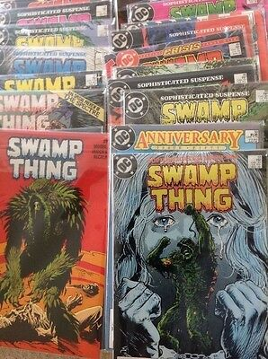 SWAMP THING #41 to 52 & 54 to 64 ALAN MOORE 1ST PRINT