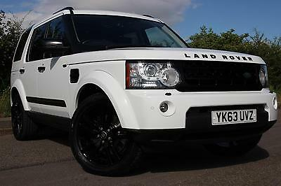 Land Rover Discovery 4 SDV6 HSE Luxury (Black Pack) Auto