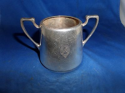 Canadian Pacific Sugar Bowl C.1930 Mappin & Webb Silver Plate