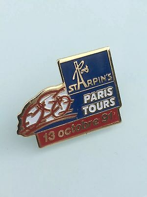 Pin's cyclisme - Paris/Tours 13 octobre 1991 - Starpin's