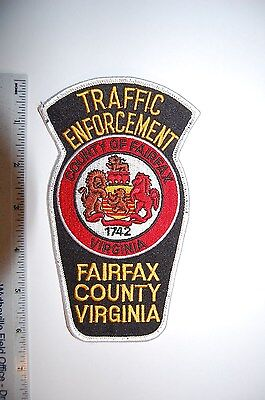 Fairfax County Virginia Traffic Enforcement Police Patch