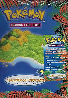 Pokemon Neo SOUTHERN ISLANDS COLLECTION Binder New Factory SEALED 2001 Nintendo