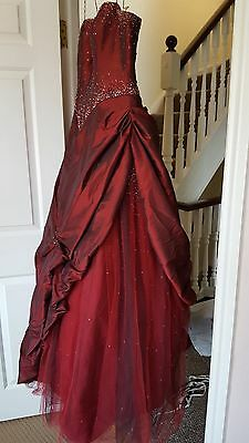 Victorian Style Steampunk  Period Costume Prom Ball Gown. *delivery Available *