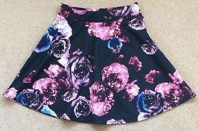 Girls Floral Skater Skirt From Candy Couture In Age 12-13 Years