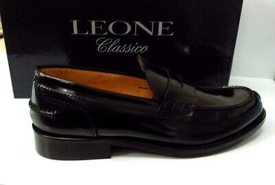 mocassino college uomo trendy made in italy 100%vera pelle