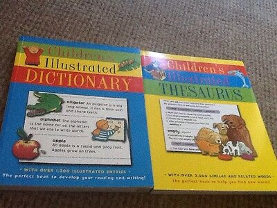 Childrens Illustrated Thesaurus And Dictionary