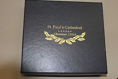 St. Paul's Cathedral Christmas Ornament from 2000