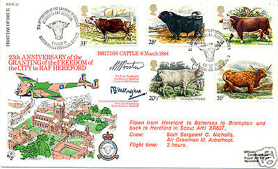 1984 Cattle - Forces Official Cover - Cat £15 !!