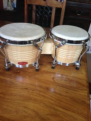 """Bongo Drums By Stagg 7"""" And 8"""""""