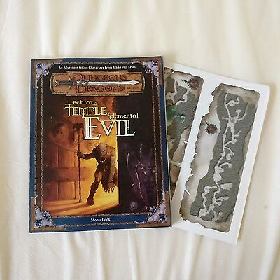 Return to the Temple of Elemental Evil - 3rd ed D&D