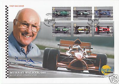 2007 Grand Prix - Westminster Autographed Editions Off - Signed MURRAY WALKER