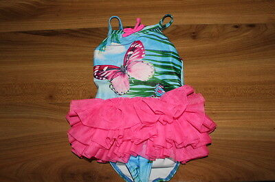 NEXT girls butterfly tutu swimsuits 6-9 months *I'll combine postage