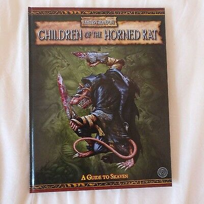 Children Of The Horned Rat - Warhammer Fantasy Roleplay 2nd Ed. WFRP 2E