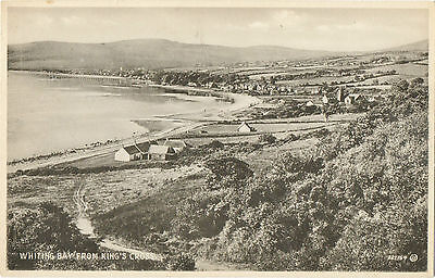Whiting Bay from King's Cross,Isle of Arran (A.McKelvie /Valentine 222167)