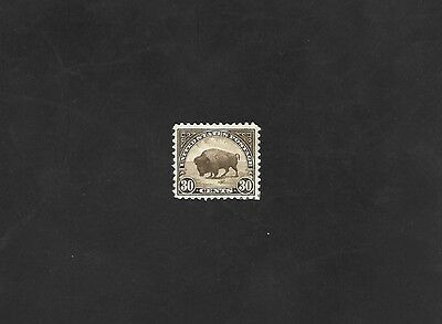 US Stamps SC# 569 American Buffalo 30 MH 30 cent 1922-25