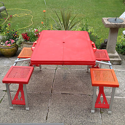 Portable  Folding Picnic Table And Seats