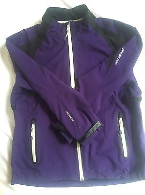 Benross Golf Ladies Waterproof Jacket Purple Size Large