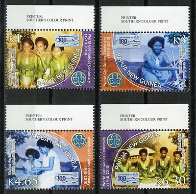 PAPUA NEW GUINEA 100th Anniversary Girl Guides S451