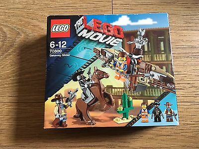 Lego -The Lego Movie - 70800 - Getaway Glider - Brand New & Factory Sealed