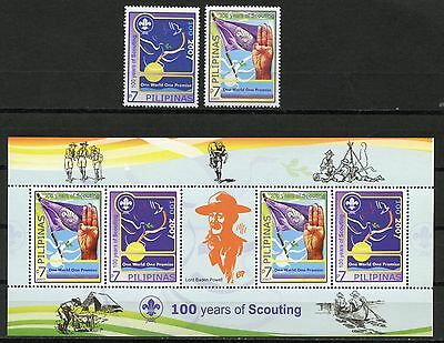 PHILIPPINES 100th Anniversary Scouting S457