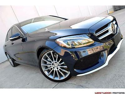 "2015 Mercedes-Benz C-Class Super Loaded $17,540 in Options Sport AMG Head Up 2015 Mercedes-Benz C300 Sport 19"" Wheels Head Up Leather LOADED CAR MSRP $57k"