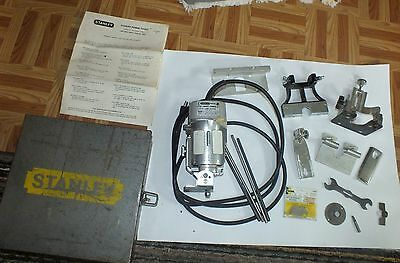 Stanley 91263 Laminate Trimmer Metal Case & Attachments Instructions Router Tool
