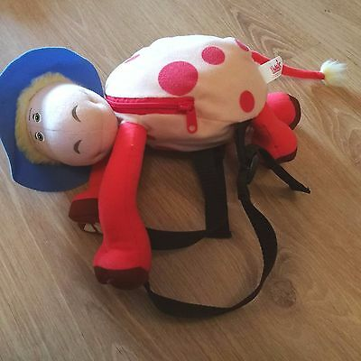 Ermintrude Cow from the Magic Roundabout Plush Soft Toy Mini Backpack / Rucksack