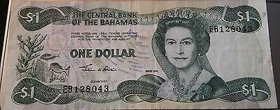 Bahamas, $1 Currency Note 2002