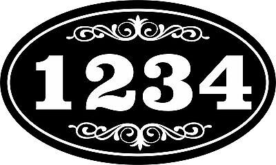 Personalized House Address Sign Plaque Aluminum Won't Fade, Peel or Chip
