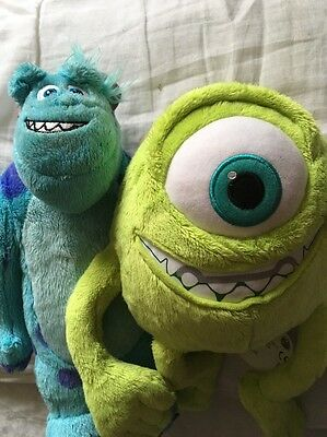 sully and Mike monsters inc plush toys