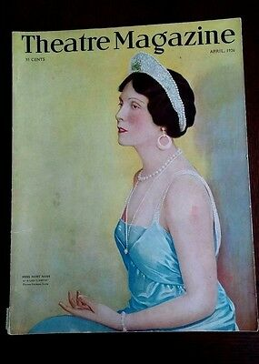 Theatre Magazine April 1926. Mary Nash cover 'A Ladies Virtue'.
