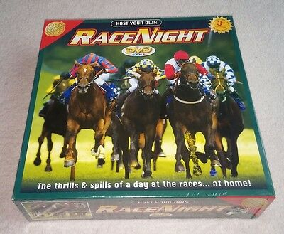 Host Your Own Race Night Game 3rd Edition By Cheatwell Games - New & Sealed
