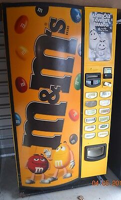 M & M Cold Candy Vending Machine