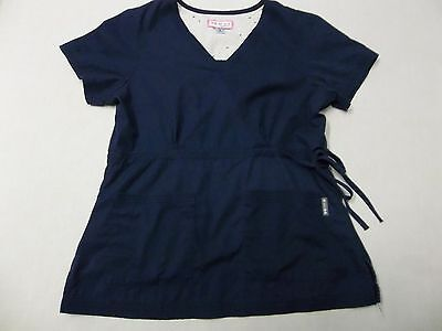 Koi By Kathy Peterson 2 Pocket Pullover Scrub Top Style#137, Size M