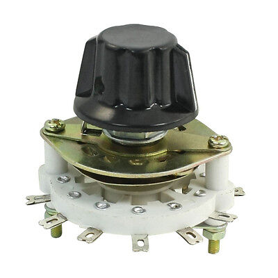 FK 1P6T 1 Pole 6 Throw Rotary Switch Channel Selector for Control Unit
