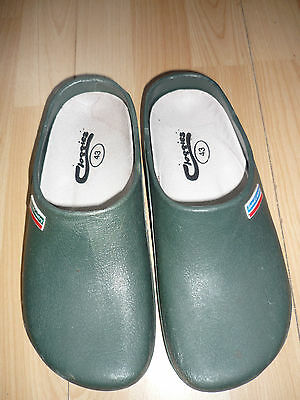 Town and Country Cloggies Gardening Shoes Clogs Green 43 UK 9 Hardly used