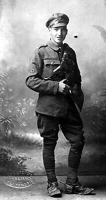 WW1 WWI British soldier Middlesex Regiment, Alexandria - Pte W. Phillips