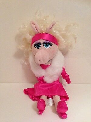 """Disney  Store Exclusive Miss Piggy Plush Soft Toy, 20"""", The Muppets, Muppet Show"""