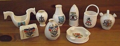 Quantity Of Crested Ware Including Goss