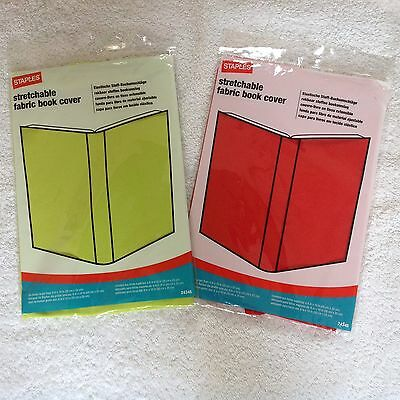 Two Stretchable Fabric Book Cover