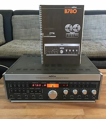 ReVox B 780 mit orig. BA, Microcomputer Controlled Synthesizer FM Receiver
