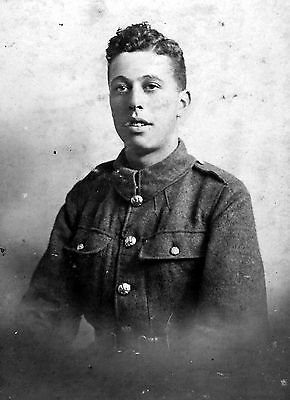 WW1 WWI BEF British soldier unknown regiment - Horace