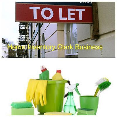 Home Inventory & Cleaning Business Details For Sale Sell Lettings / Landlords¢*