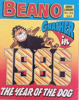 Beano Comic Library 93 The Year of the Dog