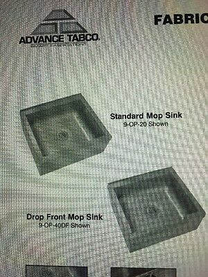 Advance Tabco Floor Mounted Mop Sink
