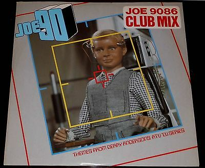 "Joe 90 : Joe 9086 Club Mix Extended / Captain Scarlet Theme : 12"" From 1986"